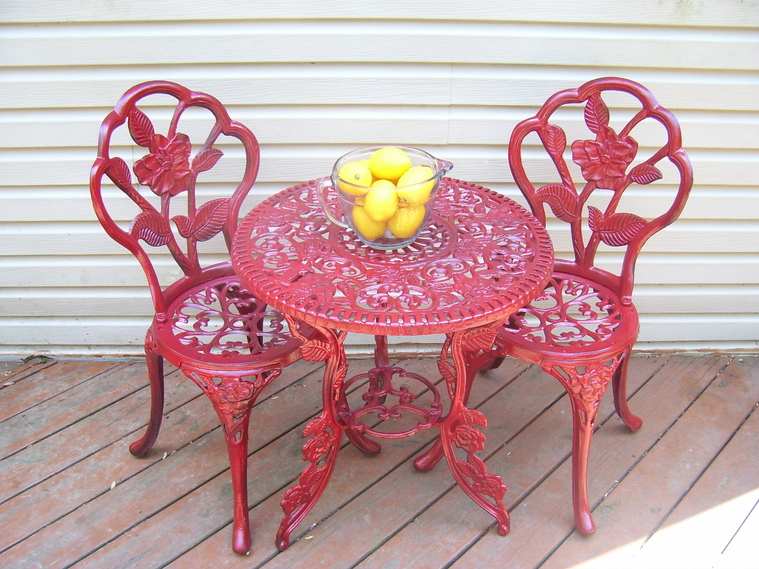 Perfect A Drab to Fab Bistro Set Re-Do – Quiver Full of Blessings SN94