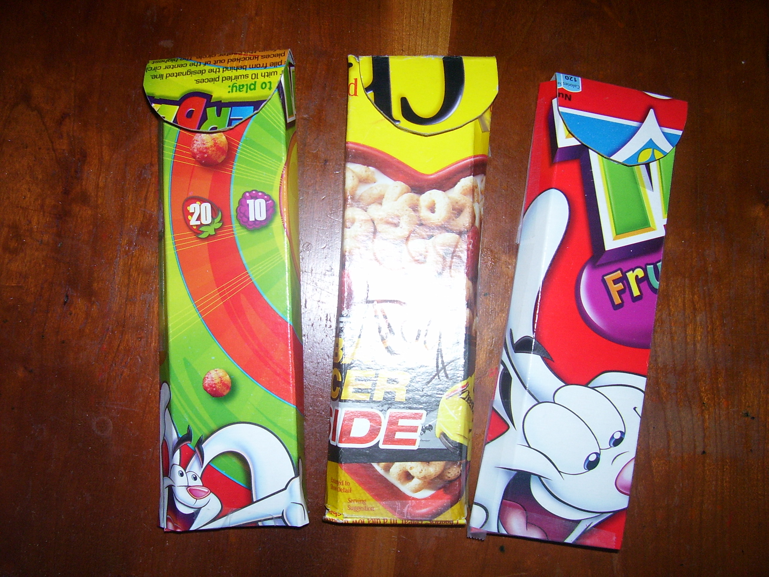 Repurpose Cereal Boxes Into Back To School Set Quiver Full Of