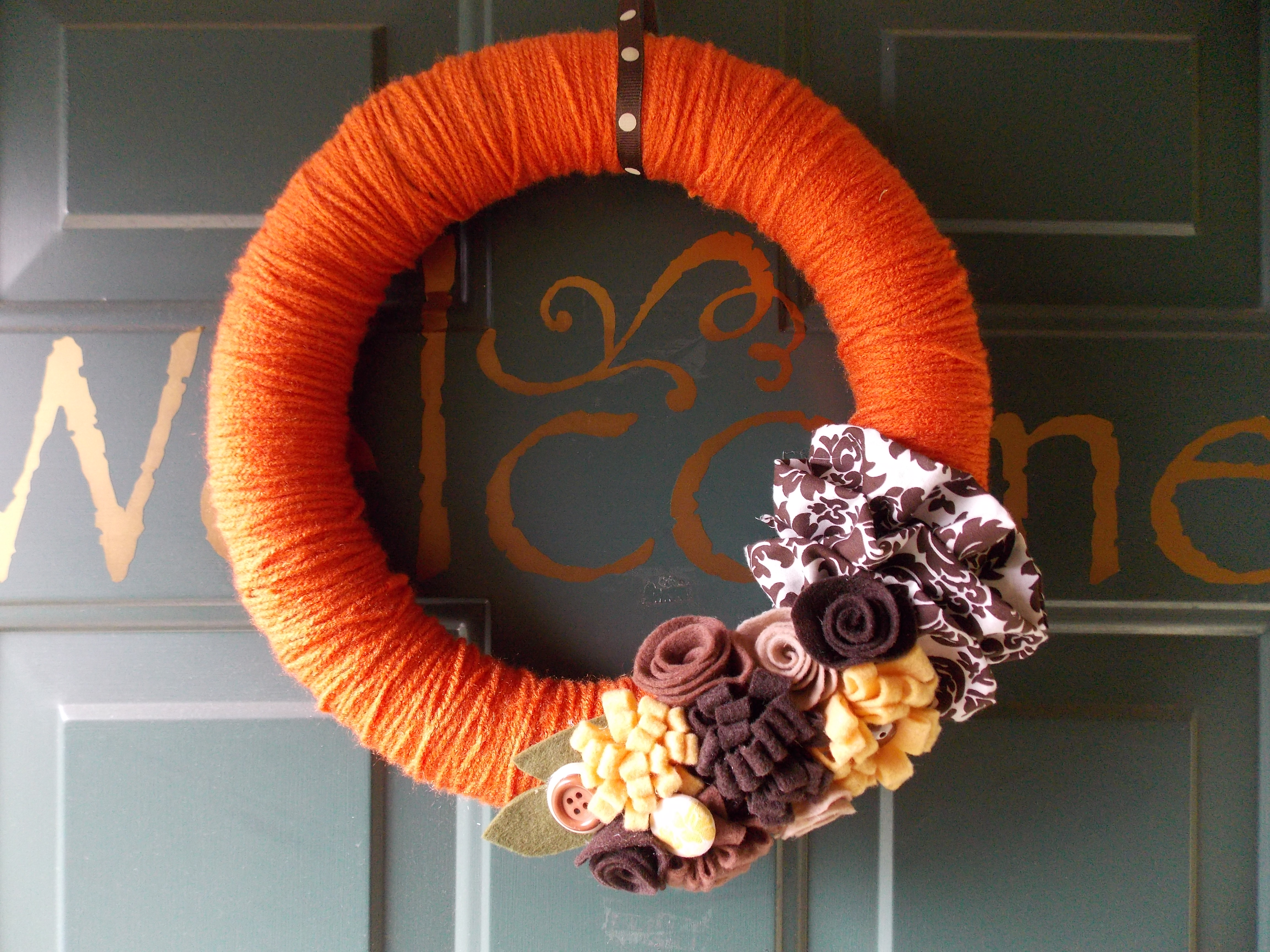 Uncategorized Fall Wreaths Diy pumpkin spice fall wreath quiver full of blessings i