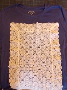 lace shirt, wheat crackers 001