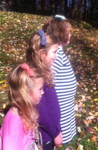 3 girls bows