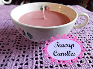 teacup candles, lace earrings 015