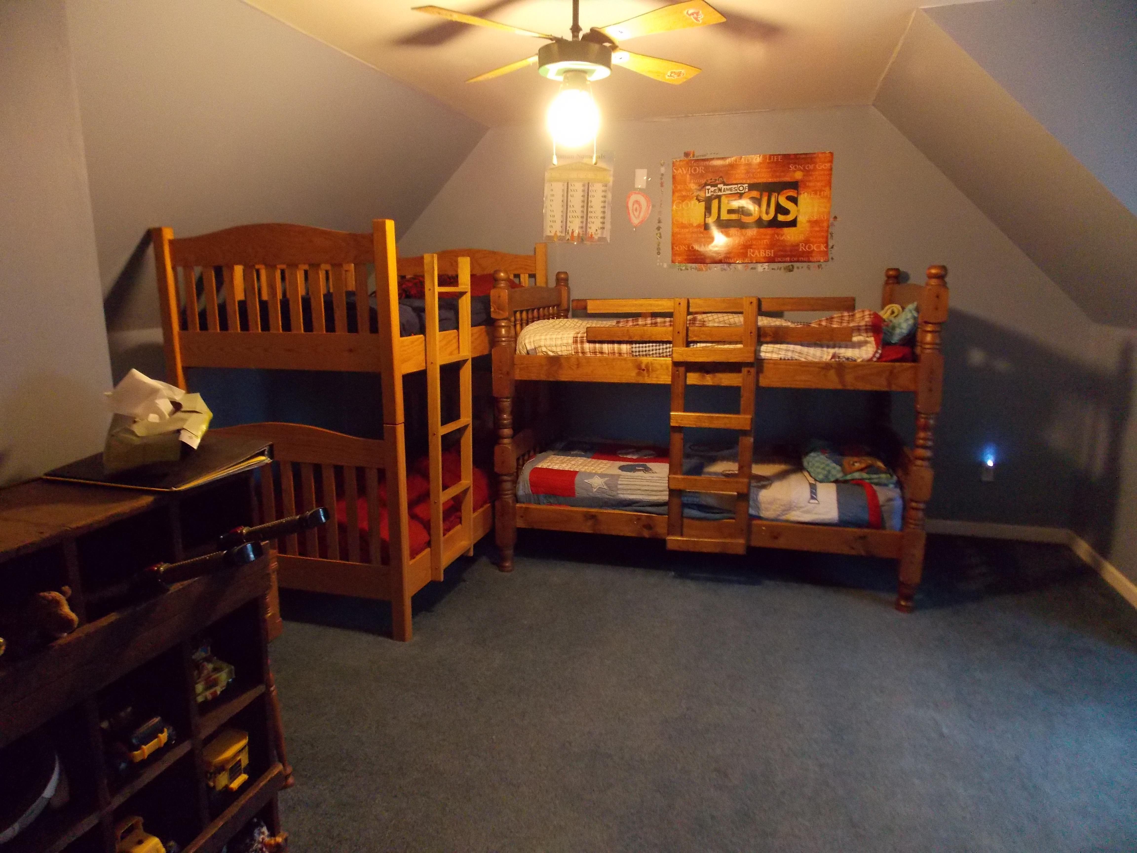 4 Boys 1 Bedroom Quiver Full Of Blessings
