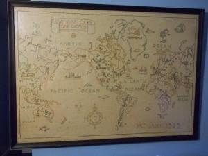 world map 012