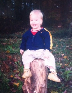 Our oldest, Daniel, as a toddler.